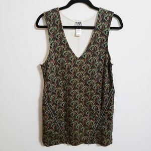Prairie Underground Zippered Detailed Dress..S